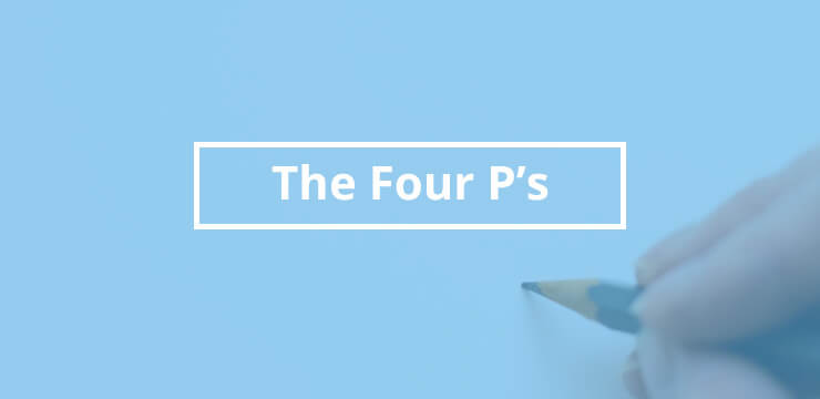 The Four P's of PR